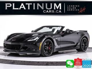 Used 2016 Chevrolet Corvette Z06 Convertible w/3LZ PKG,650HP,NAV,CAM, HEADS UP for sale in Toronto, ON