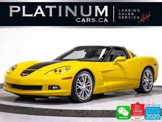 Used 2008 Chevrolet Corvette V8, 430HP,  BORLA EXHAUST, AUTOMATIC, AUX, LEATHER for sale in Toronto, ON