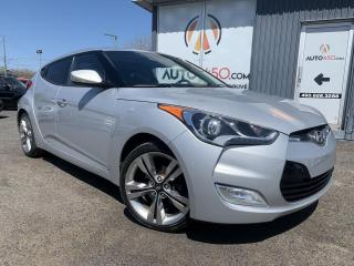 Used 2015 Hyundai Veloster ***TECH,TOIT PANO,NAVIGATION,BAS KILO*** for sale in Longueuil, QC