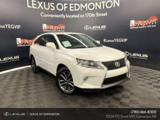 Used 2013 Lexus RX 350 F-Sport for sale in Edmonton, AB