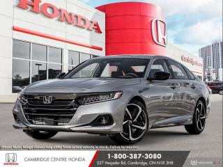 New 2021 Honda Accord SE 1.5T HONDA SENSING TECHNOLOGIES | REAVIEW CAMERA | APPLE CARPLAY™ & ANDROID AUTO™ for sale in Cambridge, ON