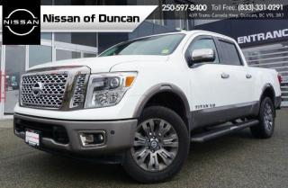 Used 2018 Nissan Titan Platinum for sale in Duncan, BC