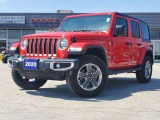 Used 2020 Jeep Wrangler Unlimited Sahara | NAV | HEATED SEATS | ALPINE for sale in Listowel, ON
