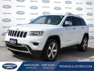 Used 2015 Jeep Grand Cherokee Limited - Leather Seats - $177 B/W for sale in Port Elgin, ON