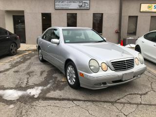 Used 2001 Mercedes-Benz E-Class 3.2L,LOW MILEAGE,MINT CONDITION !CERTIFIED.. for sale in Burlington, ON