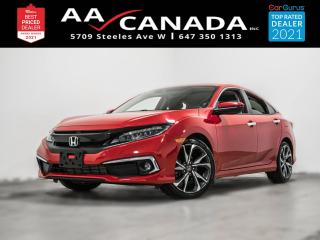Used 2019 Honda Civic Touring |LEATHER|ROOF|NAVI| for sale in North York, ON
