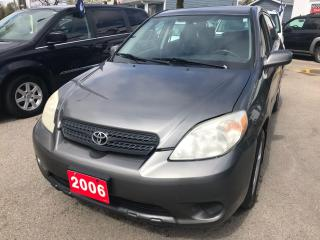 Used 2006 Toyota Matrix XR for sale in Etobicoke, ON