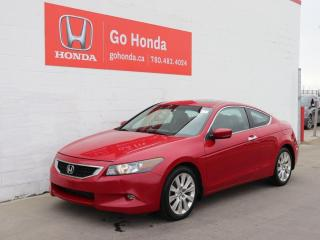 Used 2008 Honda Accord Cpe EX-L COUPE V6 - ONE OWNER NO ACCIDENTS for sale in Edmonton, AB