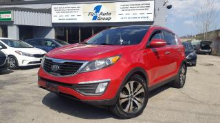 Used 2012 Kia Sportage EX w/Luxury Pkg AWD  Navi/Backup Cam/Pano-Roof for sale in Etobicoke, ON