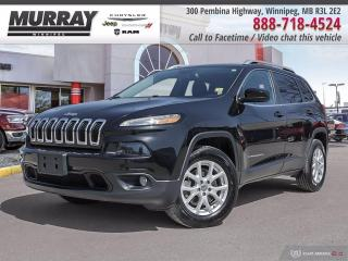 Used 2016 Jeep Cherokee 4WD 4dr North for sale in Winnipeg, MB