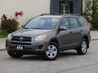 Used 2011 Toyota RAV4 4WD,ALLOY RIMS,ONE-OWNER,NO-ACCIDENT,CERTIFIED, for sale in Mississauga, ON