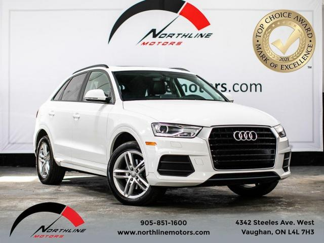 2017 Audi Q3 Komfort/Pano Roof/Heated Leather/Pwr Trunk