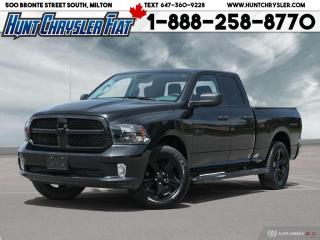 Used 2018 RAM 1500 EXPRESS | QUAD CAB | 4X4 | WHEEL & SOUND | BLACKOU for sale in Milton, ON