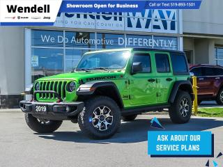 Used 2019 Jeep Wrangler Unlimited Rubicon Navigation for sale in Kitchener, ON