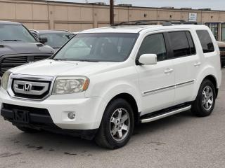 Used 2010 Honda Pilot 4WD 4DR TOURING NAV/DVD/BACKUP 1YEAR WARRANTY INCULDED for sale in Brampton, ON