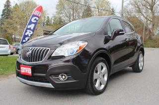 Used 2015 Buick Encore AWD, Leather, Navi, Rear Cam, Htd Seats, Sunroof for sale in King City, ON