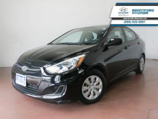 Used 2015 Hyundai Accent LOW KM | 1 OWNER | BLUETOOTH  - $78 B/W for sale in Brantford, ON