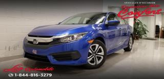 Used 2016 Honda Civic LX 4 portes CVT for sale in Chicoutimi, QC