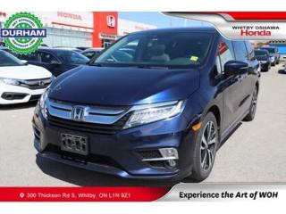 Used 2018 Honda Odyssey Touring Auto for sale in Whitby, ON