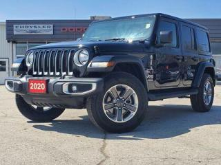 Used 2020 Jeep Wrangler Unlimited Sahara | LEATHER | NAV | BLIND SPOT | ALPINE for sale in Listowel, ON
