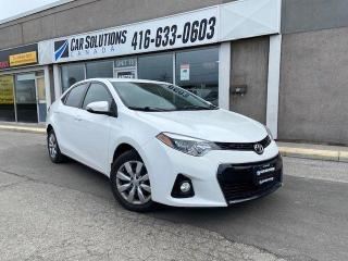 Used 2014 Toyota Corolla S-AUTOMATIC-CAMERA-BLUETOOTH for sale in Toronto, ON