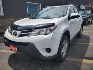 Used 2015 Toyota RAV4 LE-HEATED SEATS-BLUETOOTH-NEW TIRES for sale in Tilbury, ON