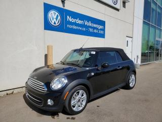 Used 2015 MINI Cooper CONVERTIBLE SUPER LOW KMS! for sale in Edmonton, AB