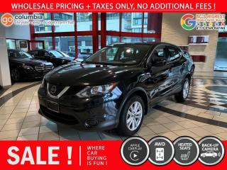 Used 2019 Nissan Qashqai S AWD - Local / No Dealer Fees / Heated Seats for sale in Richmond, BC