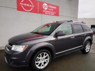 Used 2014 Dodge Journey R/T / AWD / Leather / Backup Camera / Touch Screen / Sunroof for sale in Edmonton, AB