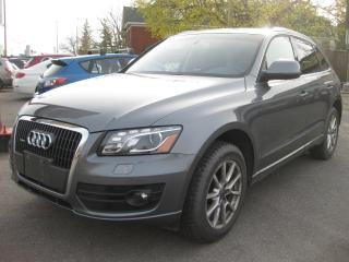 Used 2012 Audi Q5 Premium Plus Quatro AWD Nav Rev Cam AC Bluetooth for sale in Ottawa, ON