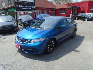 Used 2015 Honda Civic EX/ SUPER CLEAN / REAR AND SIDE CAM / PUSH START / for sale in Scarborough, ON