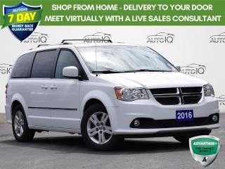 Used 2016 Dodge Grand Caravan Crew CREW PLUS  | POWER SEATS | 3.6L V6 | POWER LIFEGATE | HEATED SEATS for sale in Waterloo, ON