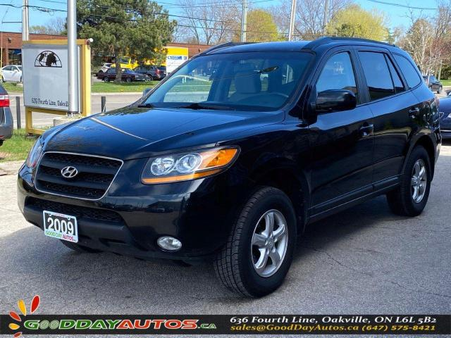 2009 Hyundai Santa Fe GL|SINGLE OWNER|LOW KM|NO ACCIDENT|AWD|CERTIFIED
