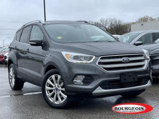 Used 2017 Ford Escape Titanium *CPO* LEATHER HEATED SEATS, REVERSE CAMERA for sale in Midland, ON