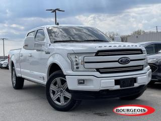 Used 2019 Ford F-150 Lariat LEATHER HEATED SEATS/ STEERING, NAVIGATION for sale in Midland, ON