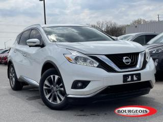 Used 2017 Nissan Murano SL LEAHTER HETED SEATS/HEATED STEERING for sale in Midland, ON
