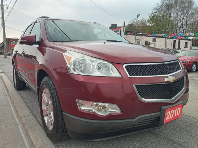 2010 Chevrolet Traverse 2LT-7 SEATS-LEATHER-SUN MOON ROOF-BK CAM-BLUETOOTH