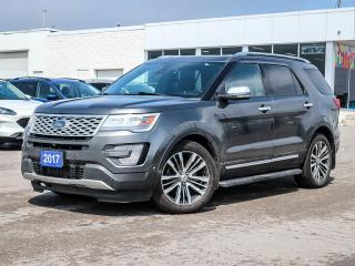 Used 2017 Ford Explorer Platinum for sale in Stouffville, ON