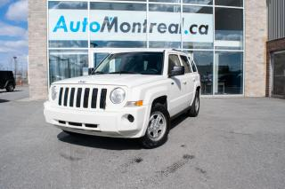 Used 2010 Jeep Patriot Sport/North for sale in Vaudreuil-Dorion, QC