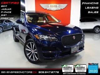 Used 2017 Jaguar F-PACE PRESTIGE | CERTIFIED | FINANCE | 9055478778 for sale in Oakville, ON
