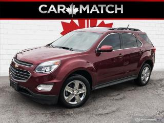 Used 2016 Chevrolet Equinox LT / AWD / NO ACCIDENTS / NAV / ROOF for sale in Cambridge, ON