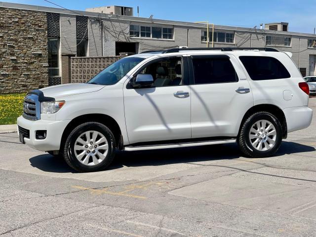 2013 Toyota Sequoia Platinum Navigation /DVD/Sunroof /7Pass Photo8