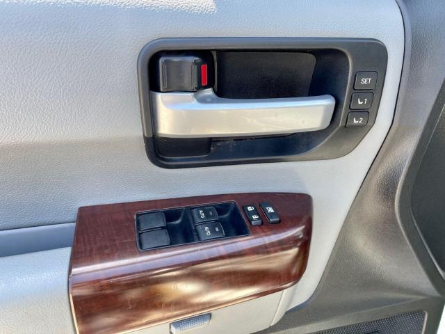 2013 Toyota Sequoia Platinum Navigation /DVD/Sunroof /7Pass Photo9