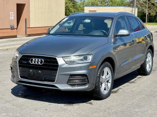 Used 2016 Audi Q3 Progressive Navigation/Panoramic Sunroof /Camera for sale in North York, ON