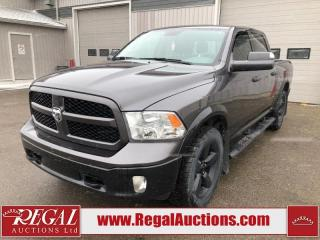 Used 2016 RAM 1500 Outdoorsman Crew CAB SWB 4WD 3.6L for sale in Calgary, AB