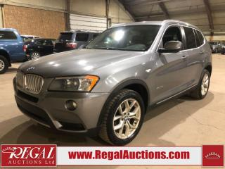 Used 2014 BMW X3 XDRIVE28I 4D Utility AWD for sale in Calgary, AB