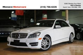 Used 2013 Mercedes-Benz C-Class C350 4MATIC - SUNROOF|NAVI|BACKUP|BLINDSPOT for sale in North York, ON