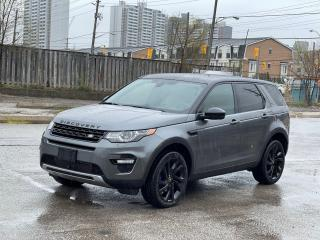 Used 2015 Land Rover Discovery Sport HSE LUXURY Navigation /Panoramic Sunroof /Camera for sale in North York, ON