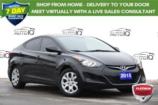 Used 2015 Hyundai Elantra GL | AUTO | AC | BLUETOOTH | HEATED SEATS | for sale in Kitchener, ON