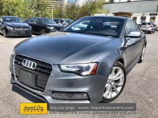 Used 2016 Audi A5 2.0T Komfort plus RARE 6 SPD  S-LINE  LEATHER  ROO for sale in Ottawa, ON